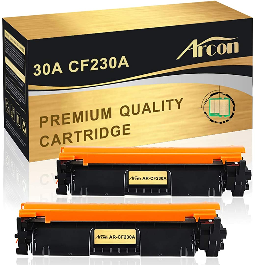 Arcon Compatible Toner Cartridge Replacement for HP 30A 30X CF230A M203dw M227fdw HP LaserJet Pro MFP M203dw M227fdw M227fdn 203dw 27fdw 227fdn HP LaserJet Pro M203d M203dn M227sdn M227 M203 Ink-2Pack seo13763635