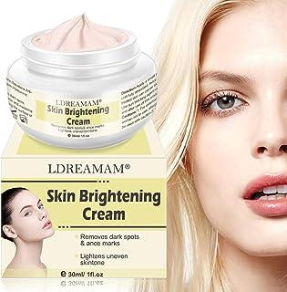 Skin Lightening Whitening Cream,Skin Brightening Cream, Brightening Face Moisturizer, Freckle cream,Anti Aging Skin Lightening Cream for Face Body Dark Spots and Age Spots,Freckles, Age Spots, Wrinkle