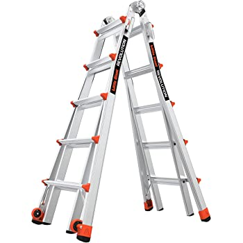 Little Giant Ladder Systems 12022 Revolution Use, 22 Foot Multi-Purpose Ladder, Ft, Gray