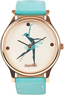 Chumbak Analog White Dial Women's Watch-8907605025068