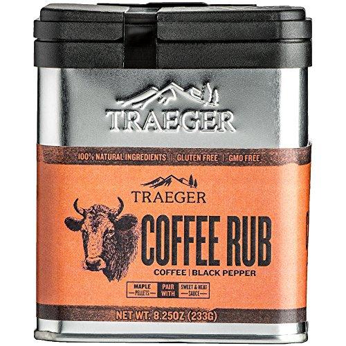 Traeger Grills SPC170 Hähnchenwürze Gewürze zum Einreiben, Kaffee