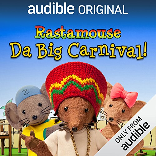 Rastamouse audiobook cover art