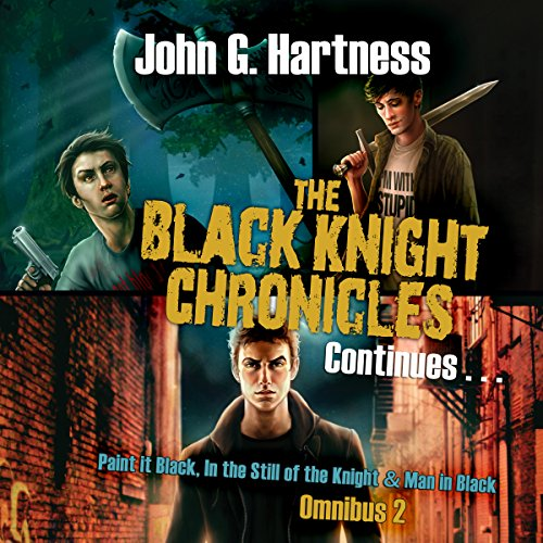 The Black Knight Chronicles Continues audiobook cover art