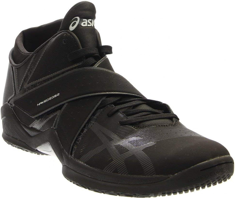 ASICS Naked EG Men US 14 Black Sneakers
