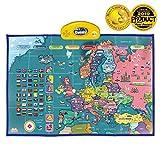 BEST LEARNING i-Poster mi Mapa Interactivo de Europa - Juguete Educativo parlante para niños y niñas de 5 a 12 años de Edad (Versión en inglés)