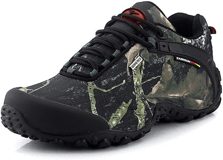 Hiking shoes, Outdoor Men shoes - Suede Walking shoes, Mesh Upper Hiking shoes Flexible Comfortable Climbing shoes