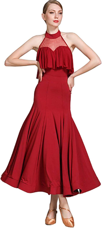CHAGME New Dress Sexy First Choice National Dance Dress Waltz Skirt Tango Dress