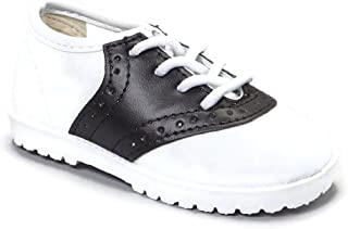 Pitter Patter Childrens Saddle Shoe 4 Colors Available (Infant/Toddler) Adorable Black Navy Brown Pink Patent