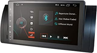 Android 9.0 Quad Core 9 Inch 1024x600 HD Touchscreen Car Radio with Car Navigation for BMW 5 Series BMW E39 BMW X5 E53 BMW M5 BMW 7 Series E38 SWC WiFi 4G USB SD CAM-in DAB+