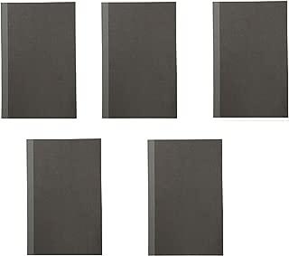 MUJI Notebook B5 5㎜ 30sheets - Pack of 5books Dark Gray