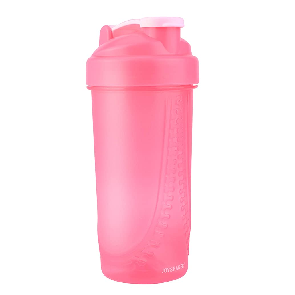 JOYSHAKER Shaker Bottle for Protein Mixes, Leak Proof Guarantee BPA and Phthalate-Free Plastic Wide Mouth Gyms Sports Shaker Cup with Mixer 28oz