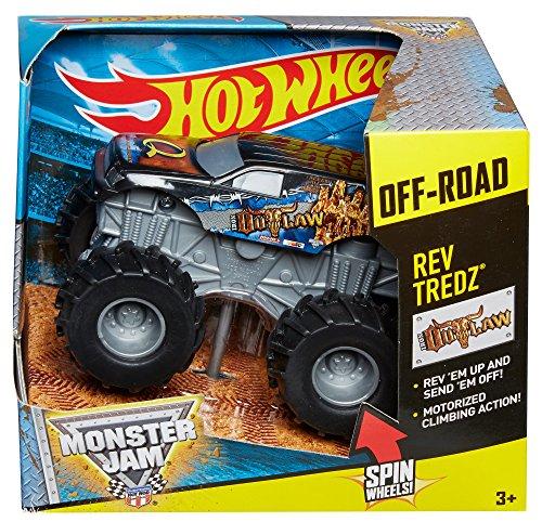 Hot Wheels Monster Jam Fahrzeug - Off Road Outlaw - Rückzugfunktion
