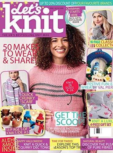 Magazine Let's Knit packed with Patterns! 50 Masks To Wear & Share! 2020: PDF Forme (English Edition)