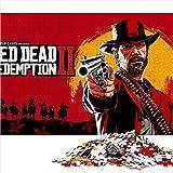 Visionpz Puzzle para Adultos Rompecabezas de 1000 Piezas Red Dead Redemption: Redemption 2 Conjunto de Rompecabezas Familiar in-Game Character Rompecabezas Juegos educativos 75x50cm