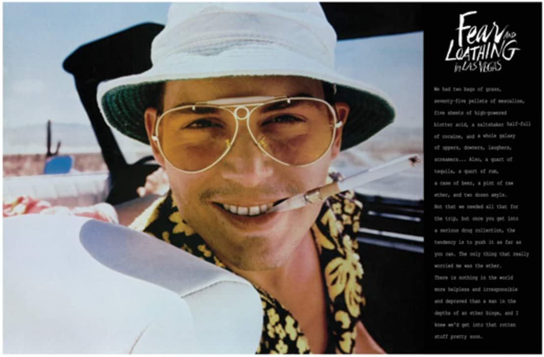 Details about  /Hot Gift Poster Fear and Loathing In Las Vegas Classic Movie 40x27 36x24 F-131