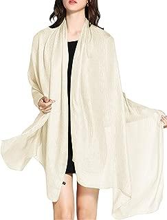 WedTrend Hochwertig Schlicht Flachs Stola Schal für Kleider in verschiedenen Farben