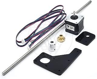 TEVO Tarantula Dual Z Axis Upgrade Kit Nema 42 Step Motor & T82 Lead Screw 375 mm 8mm with Brass Copper for 3D Printer Part