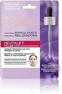 LOréal Paris Revitalift Filler Mascarilla Rellenadora Cuidado Facial Anti-Edad Con Ácido Hialurónico 41 gr