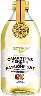 Gryphon Cold Brew Sparkling Tea Osmanthus Sencha with Passion Fruit, 12 x 300ml