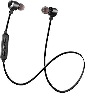 Venoro Bluetoothヘッドホン 磁気ワイヤレスイヤホン マイク付き Bluetooth 5.0 スポーツイヤホン しっかりフィット ノイズアイソレーション ヘッドセット ランニング ジム ワークアウト iPhone サムスン Android用 H-111595