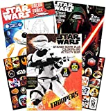 Star Wars Coloring Book Set with Stickers and Posters (Over 100 Pages, 3 Posters & 80 Stickers)