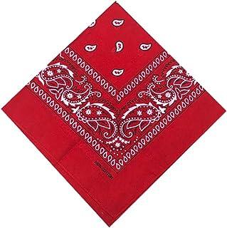 12Stk Paisley Print Bandana 100 /% Baumwolle Gesichtsmaske Cover Kopf Warp Schal