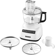 KitchenAid KFP0711WH Food Processor, 7 Cup, White