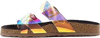 Smash It Sandals Slides Slippers for Women, Womens Mules Slip On House Shoe