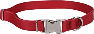 """Sterling Solid Red Collar, Small 10"""" - 14"""""""