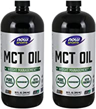Now Foods MCT Oil, 32 Ounce (Pack Of 2) (packaging may vary)