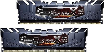 G. Skill Flare x Series (16GB, 2x 8GB) 288-Pin DDR42400(PC419200) para AMD ryzen memoria de computadora modelo F4–2400°C15d-16gfx