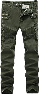 Best green biker jeans men Reviews