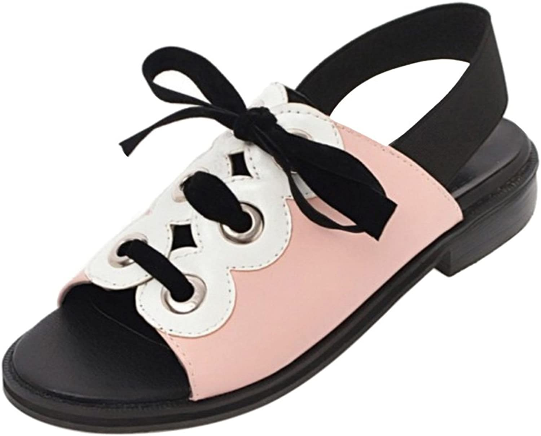 KemeKiss Women Comfort Lace Up Sandals