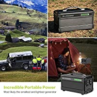 ALLPOWERS Portable Generator 288Wh Power Station Emergency Power Supply with Silent DC/AC Inverter, Charged by Solar Panel/ Wall Outletr for Camping, Home Use, Refrigerator, Outdoor 10