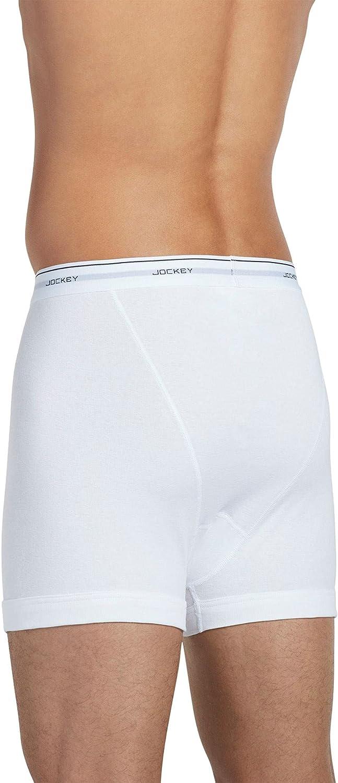 Jockey Mens Classic Vest 3-Pack White