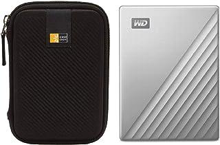قرص صلب خارجي من نوع سي دابليو دي 2 تيرابايت ماي باسبورت الترا يو إس بي 3.0 نوع سي لأجهزة ماك (فضي) + جراب