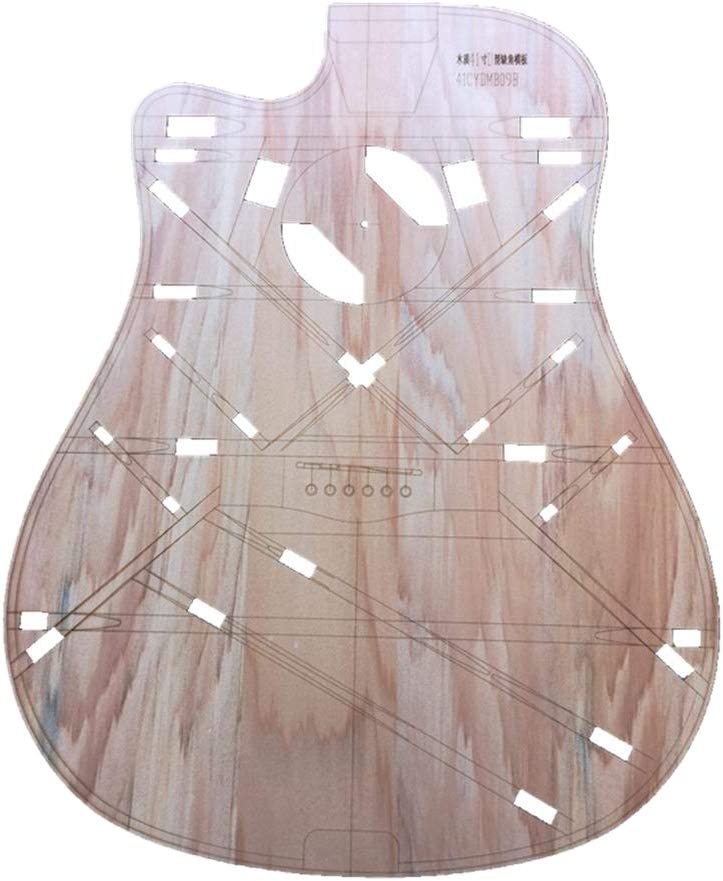 simhoa 41inch Wood D-type Corner Folk Guitar Ranking TOP13 Template Body Denver Mall Makin