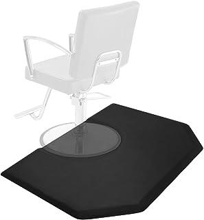 Saloniture 5 ft. x 4 ft. Salon & Barber Shop Chair Anti-Fatigue Mat – Black..