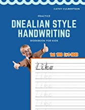 Practice Dnealian Style Handwriting Workbook for Kids: Tracing and review 1st 100 Fry Sight Words book (1000 Fry Sight Words Dnealian Handwriting)