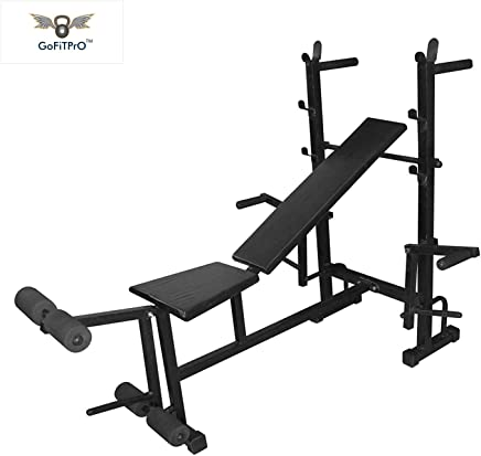 Gofitpro Multipurpose 8 in 1 Bench Home Gym Equipment