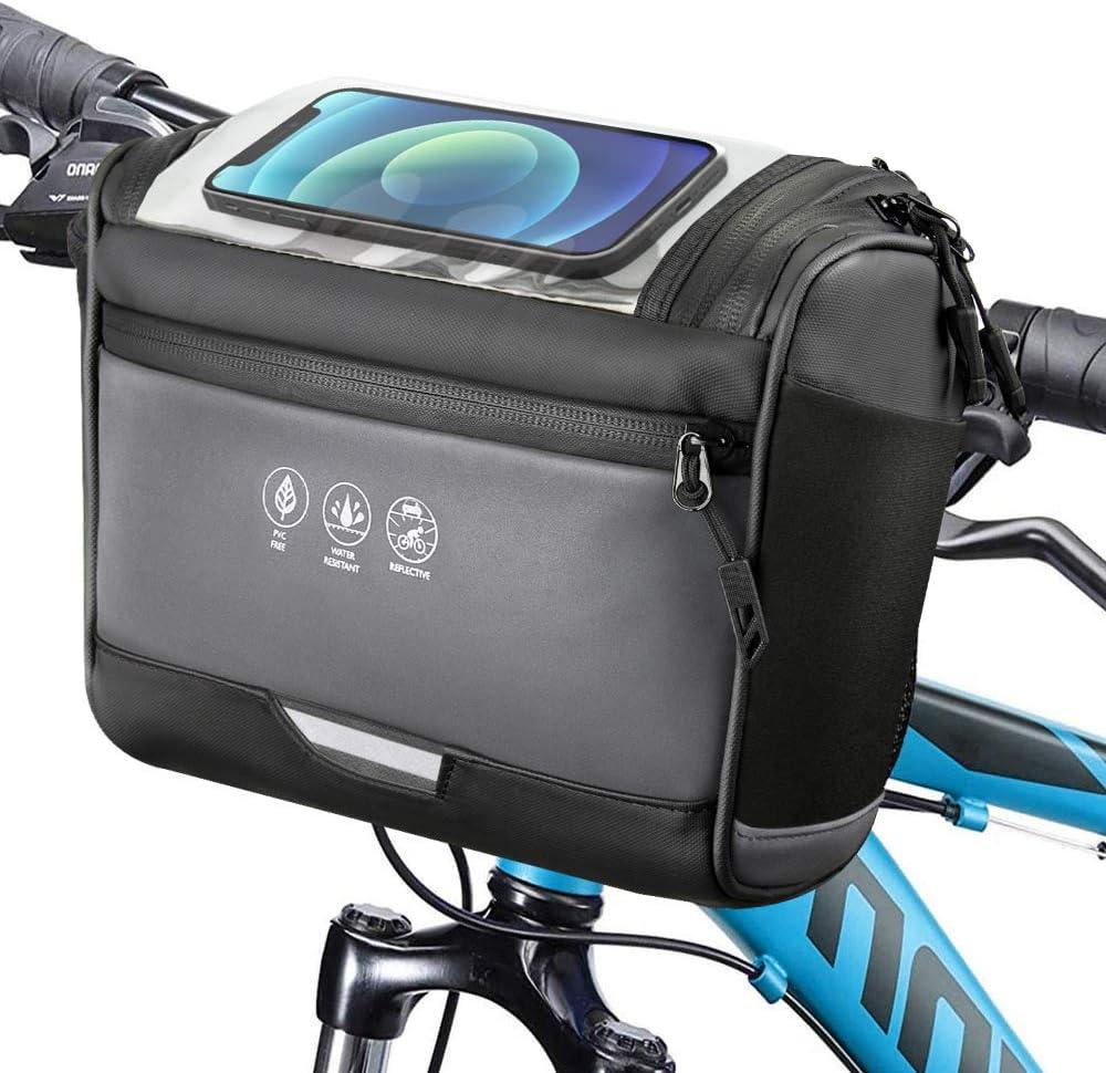WOTOW Water-Resistant Bicycle Handlebar Bag