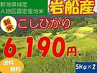 平成28年新潟県産特定産地米 (岩船産5㎏×2)