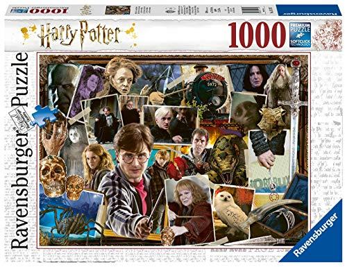 Ravensburger Puzzle 15170 - Harry Potter gegen Voldemort - 1000 Teile Puzzle für Erwachsene und Kinder ab 14 Jahren, Harry Potter Fanartikel
