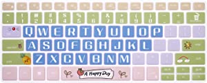 MMDW Silicone Keyboard Cover for Dell 2020 2019 Inspiron 13 5390 5391 7390 7391 13.3