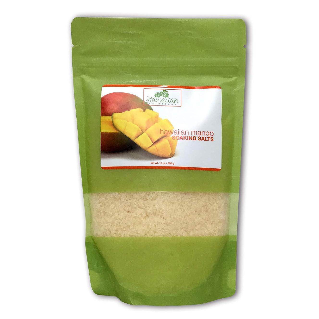 ぼんやりしたセールスマンセイはさておきハワイアンバス&ボディ ハワイアン?マンゴバスソルト ( Hawaiian Mango Bath Salt )