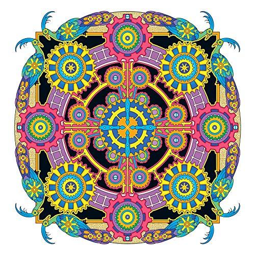 Creative Haven Steampunk Mandalas Coloring Book (Creative Haven Coloring Books) steampunk buy now online