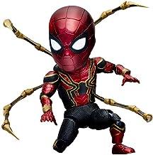 GYZ Beast Kingdom Marvel Authorized Avengers Alliance: Infinite War Steel Spiderman Deluxe Edition Juguetes