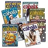 DataPrice Pack de 8 Libros de Pasatiempos Cábala. Crucigramas para Adultos...