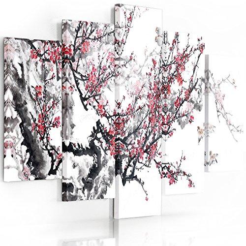 Feeby Frames, Cuadro en lienzo - 5 partes - Cuadro impresión, Cuadro decoración,...