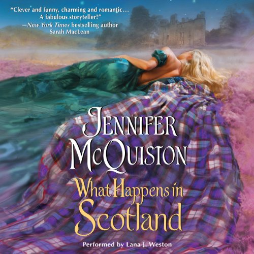 What Happens in Scotland audiobook cover art